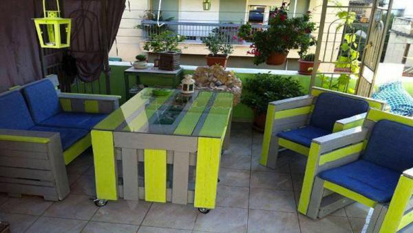Nos idées pour décorer votre jardin avec des palettes